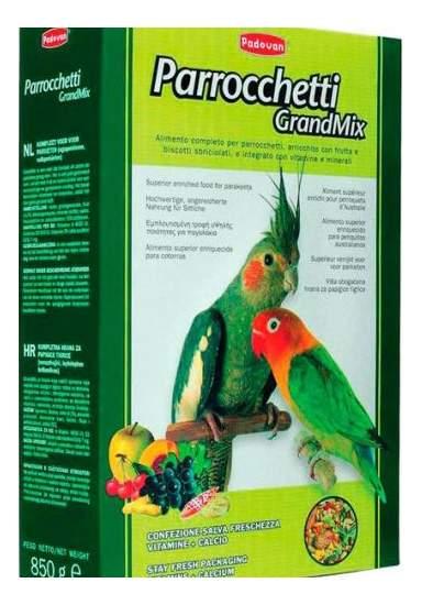 Основной корм Padovan для попугаев 850 г, 1 шт