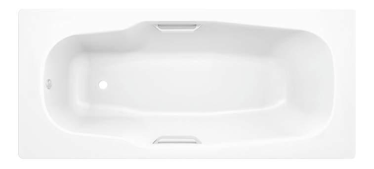 Стальная ванна BLB Atlantica HG B80J handles 180х80 без гидромассажа