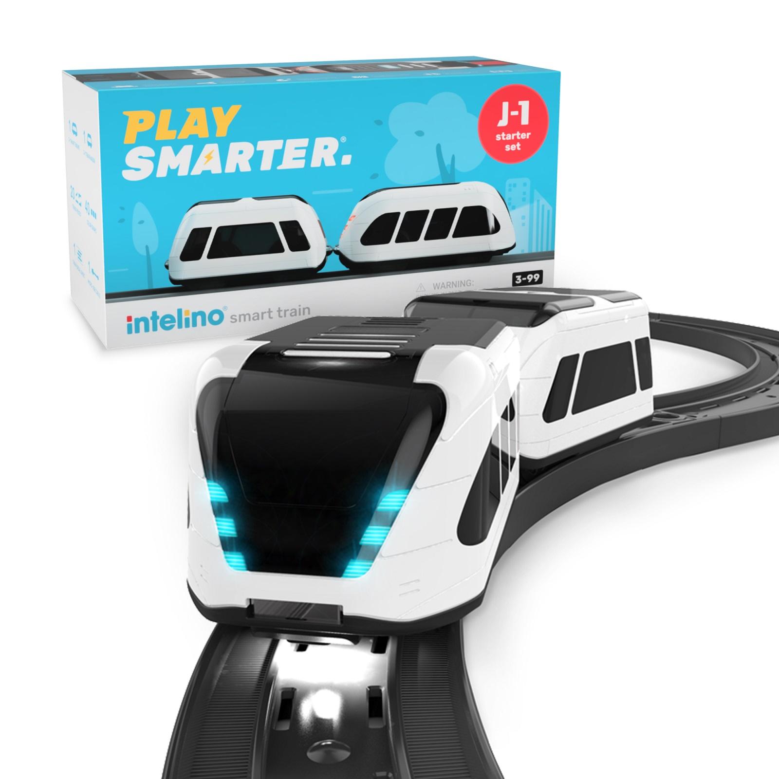 Умная железная дорога Intelino Smart Train J-1 Starter Set White