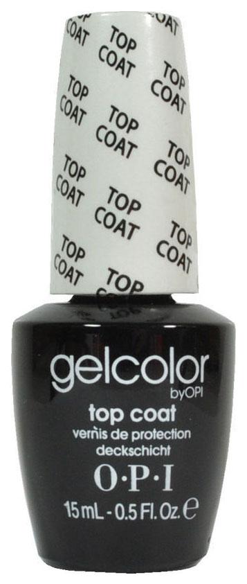 Закрепитель лака для ногтей OPI Gelcolor Top Coat 15 мл