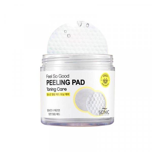 Очищающие салфетки Scinic Feel So Good Peeling Pad (Toning care)