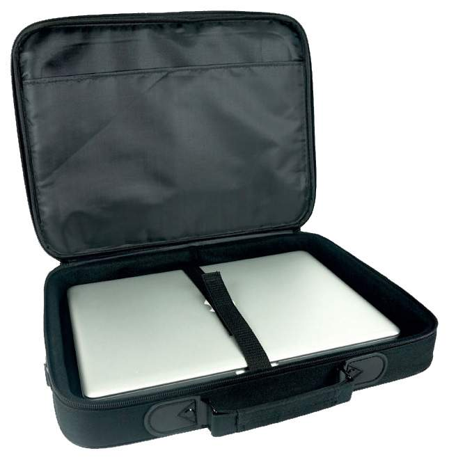 "Сумка для ноутбука 15.6"" Kraftmark Standard Bag черная/серая"