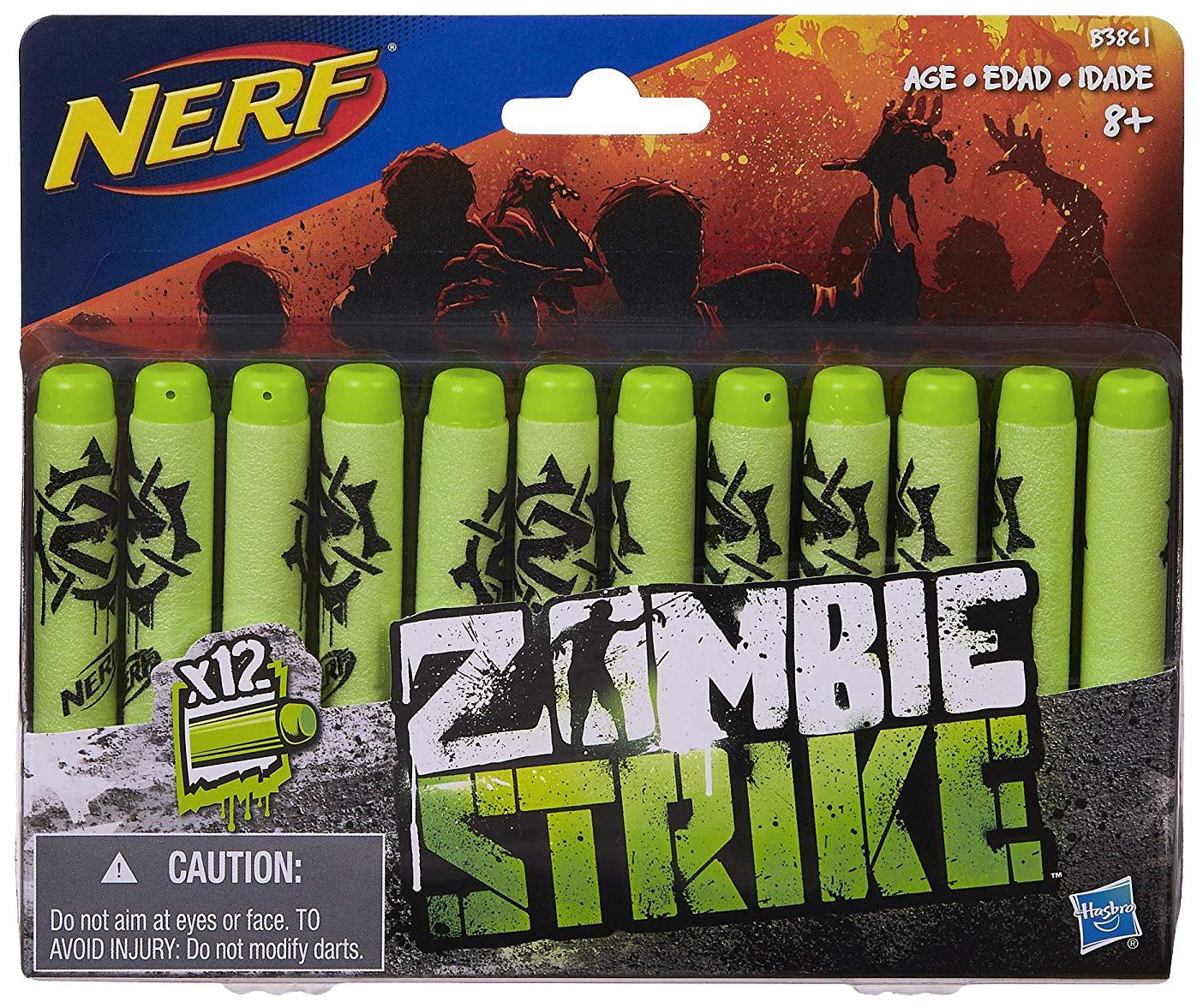Набор стрел для Бластера Hasbro Nerf Zombie Strike 12 шт. B3861