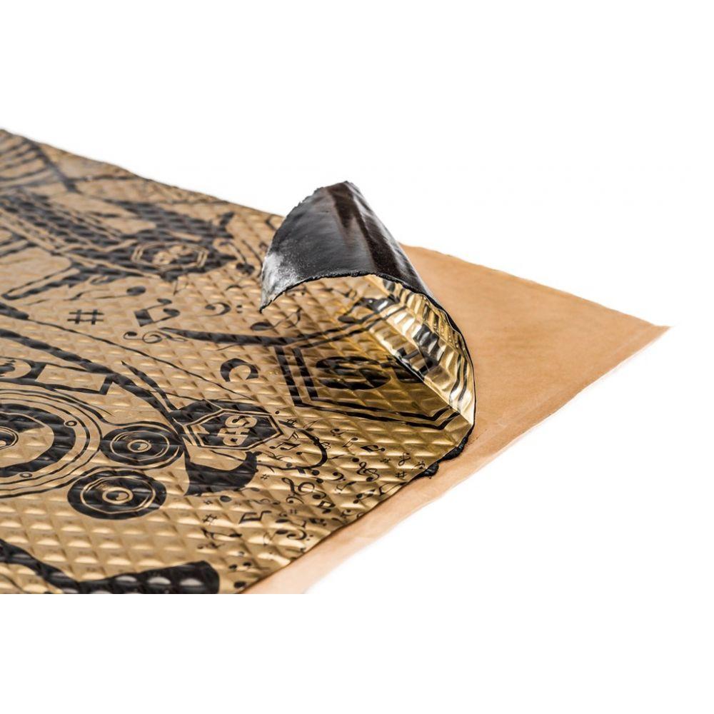 Шумоизоляция StP Вибропласт Gold 2.3 New 0,75x0,47м, толщина 2,3 мм, 5 листов