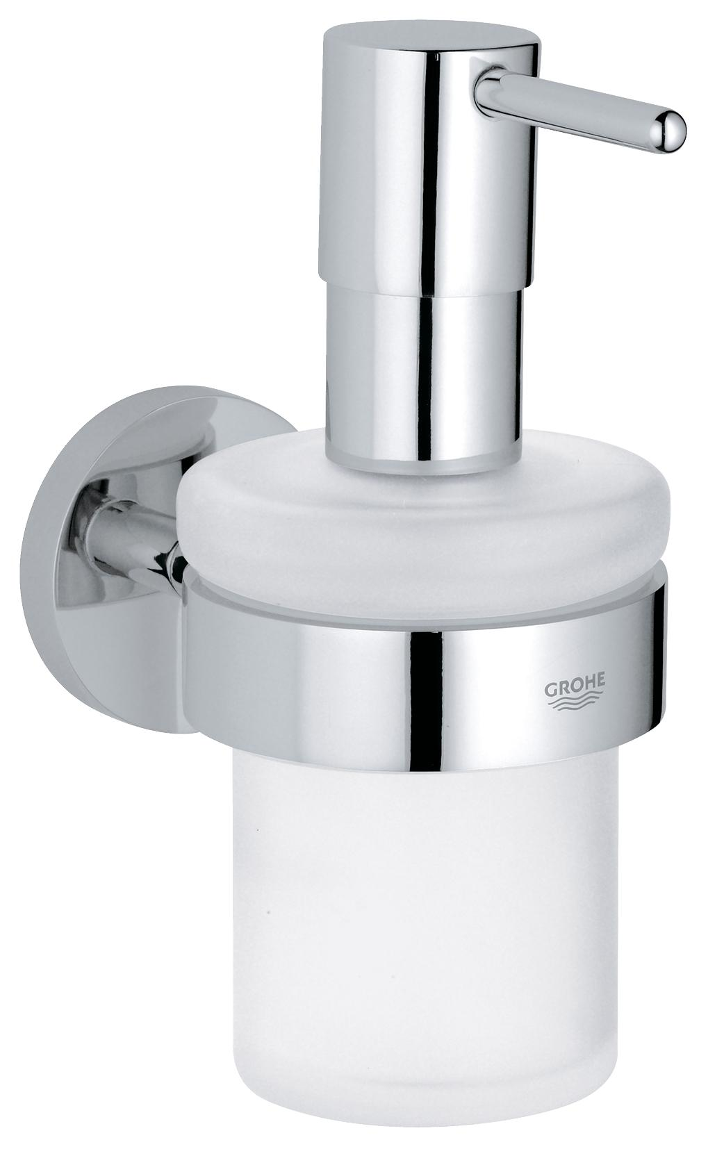 Дозатор жидкого мыла GROHE Essentials, хром
