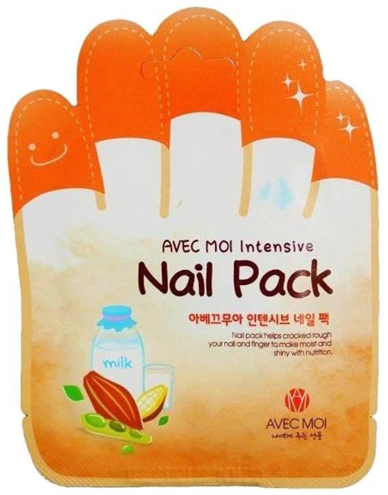 Маска для ногтей Avec Moi Intensive Nail Pack Безупречный маникюр 4,5 гр