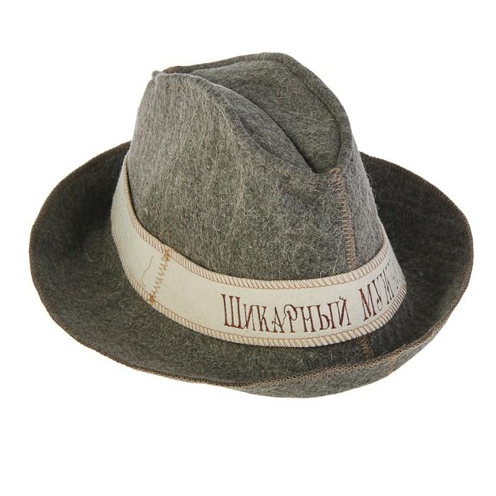 "Шляпа банная ""Шикарный мужчина"" Rusher шв017"