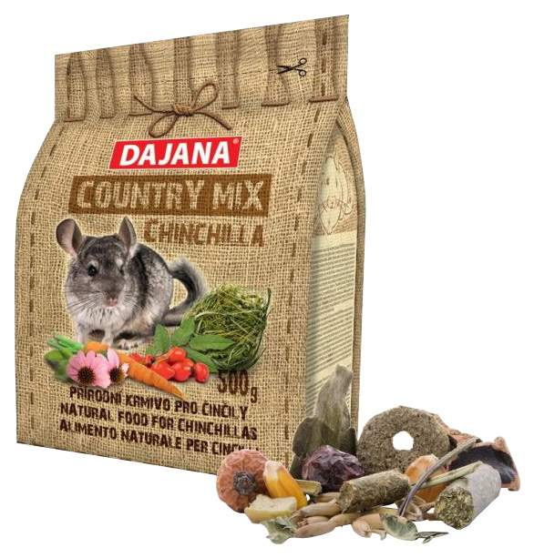 Корм для шиншилл Dajana COUNTRY MIX 0.5 кг 1 шт