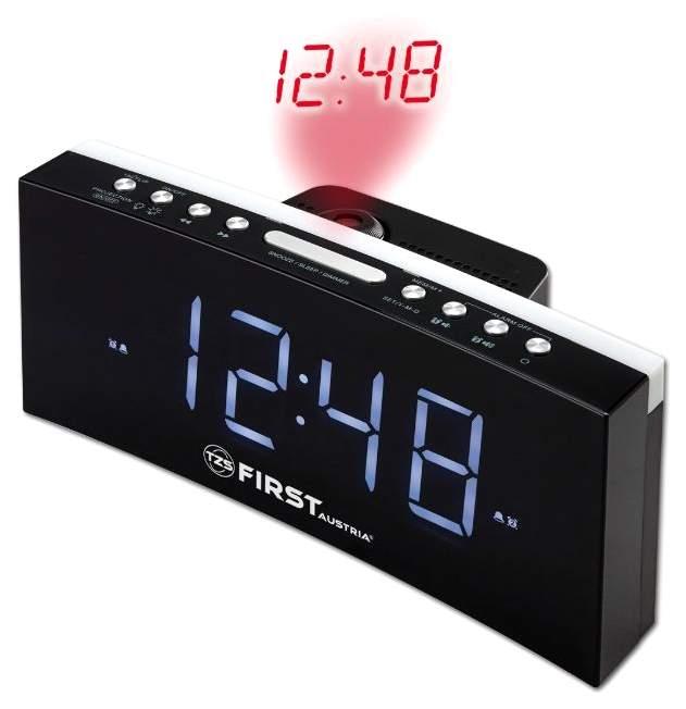 Радиочасы с проектором First 2420-4 Черный