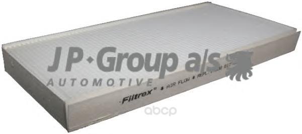 Фильтр воздушный салона Opel Corsa, Vectra, Signum 00 JP Group 1228101100