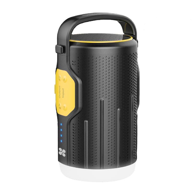 Беспроводная акустика Promate CampMate-2 Yellow/Black