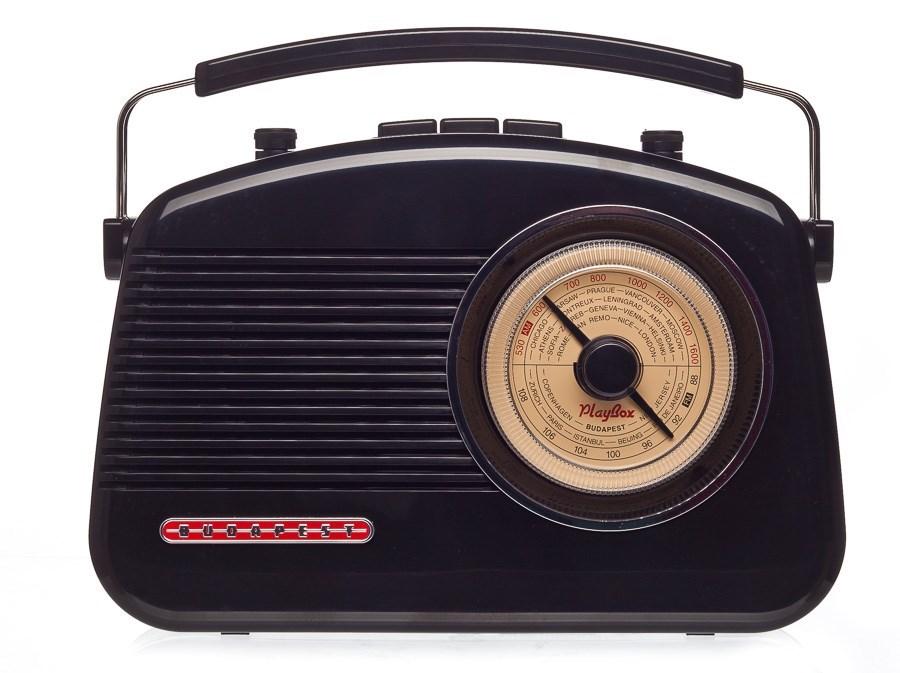 Радиоприемник Playbox Budapest PB-13-BK
