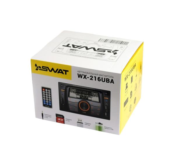 Автомобильная магнитола SWAT WX-216UBA 4x50Вт