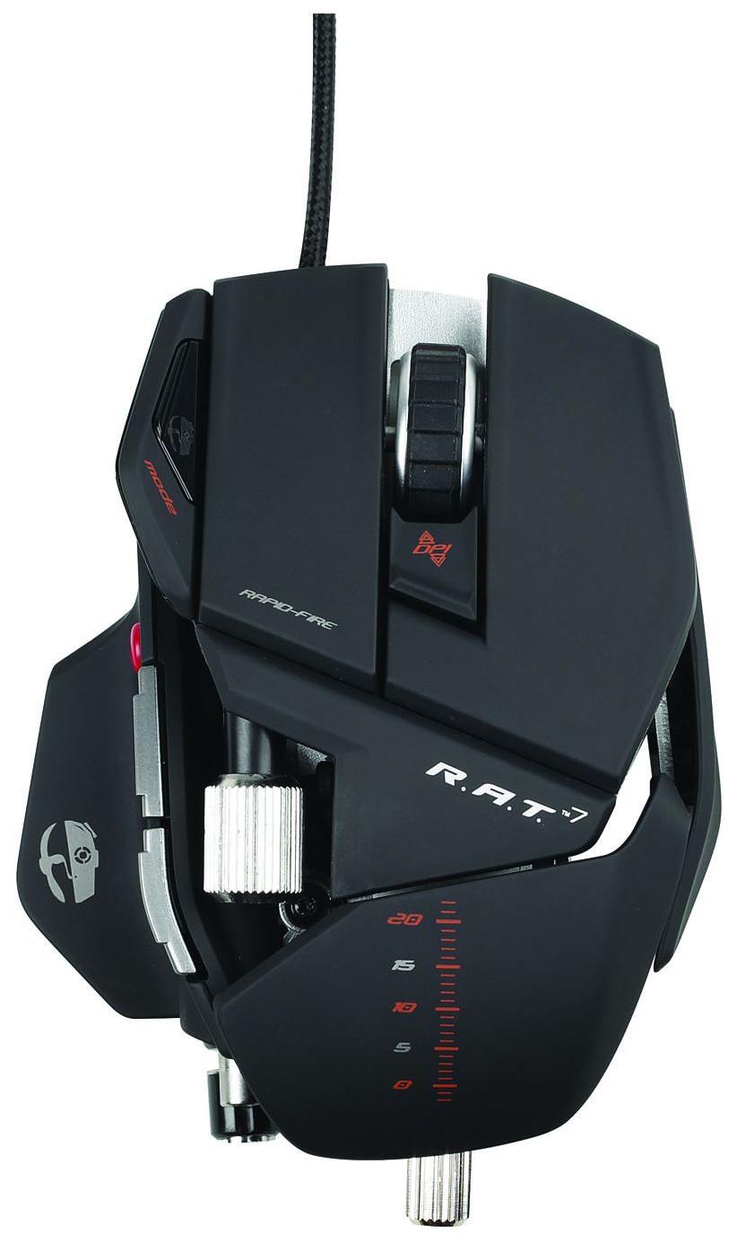 Игровая мышь Mad Catz R.A.T.7 Matte Black (PCA125)