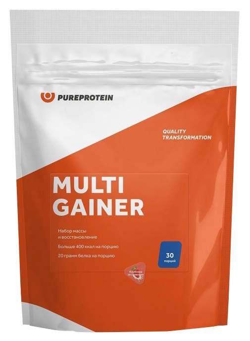 Гейнер PureProtein Multi Gainer 3000 г клубника со сливками