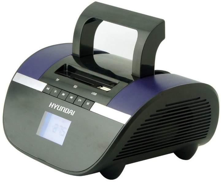 Магнитола Hyundai H-PAS220 Черный/Синий