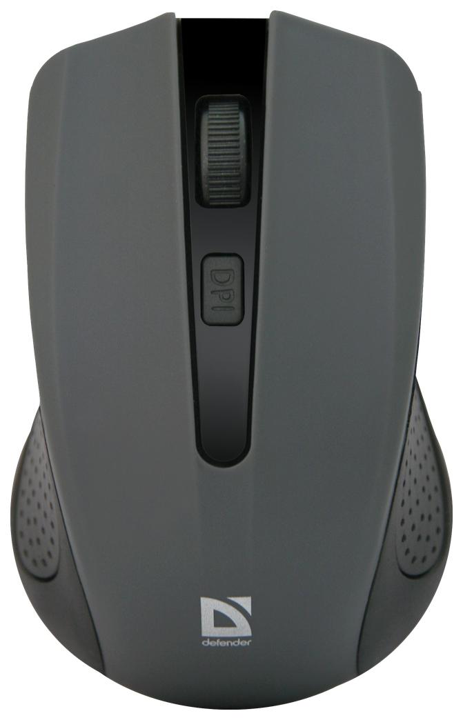 Беспроводная мышка Defender Accura MM-935 Grey (52936)