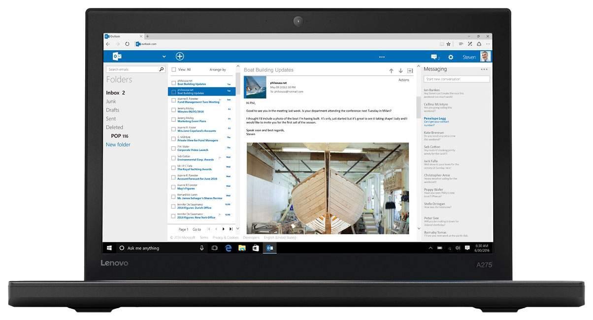 Ноутбук Lenovo ThinkPad A275 20KCS08300