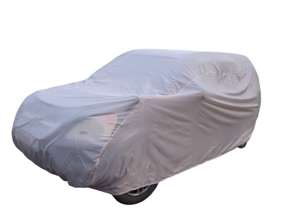 Тент чехол для автомобиля, ЭКОНОМ плюс для ВАЗ / Lada Калина спорт