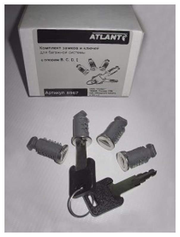 Установочный комплект для автобагажника ATLANT Калина 8967