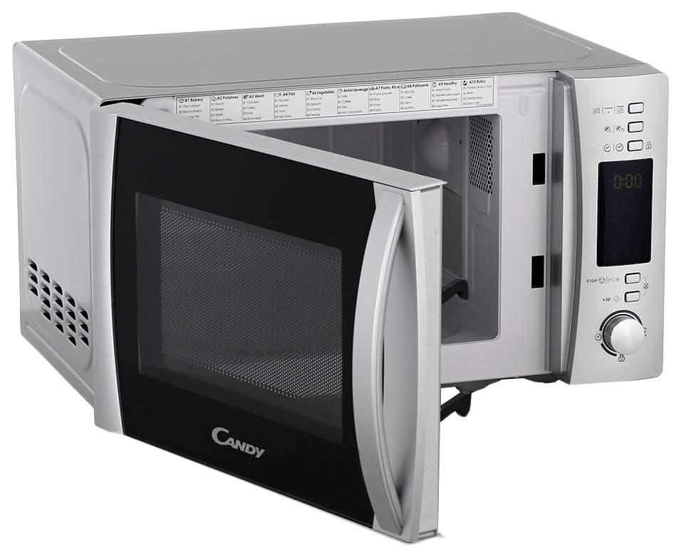 Микроволновая печь с грилем Candy CMXG20DS silver