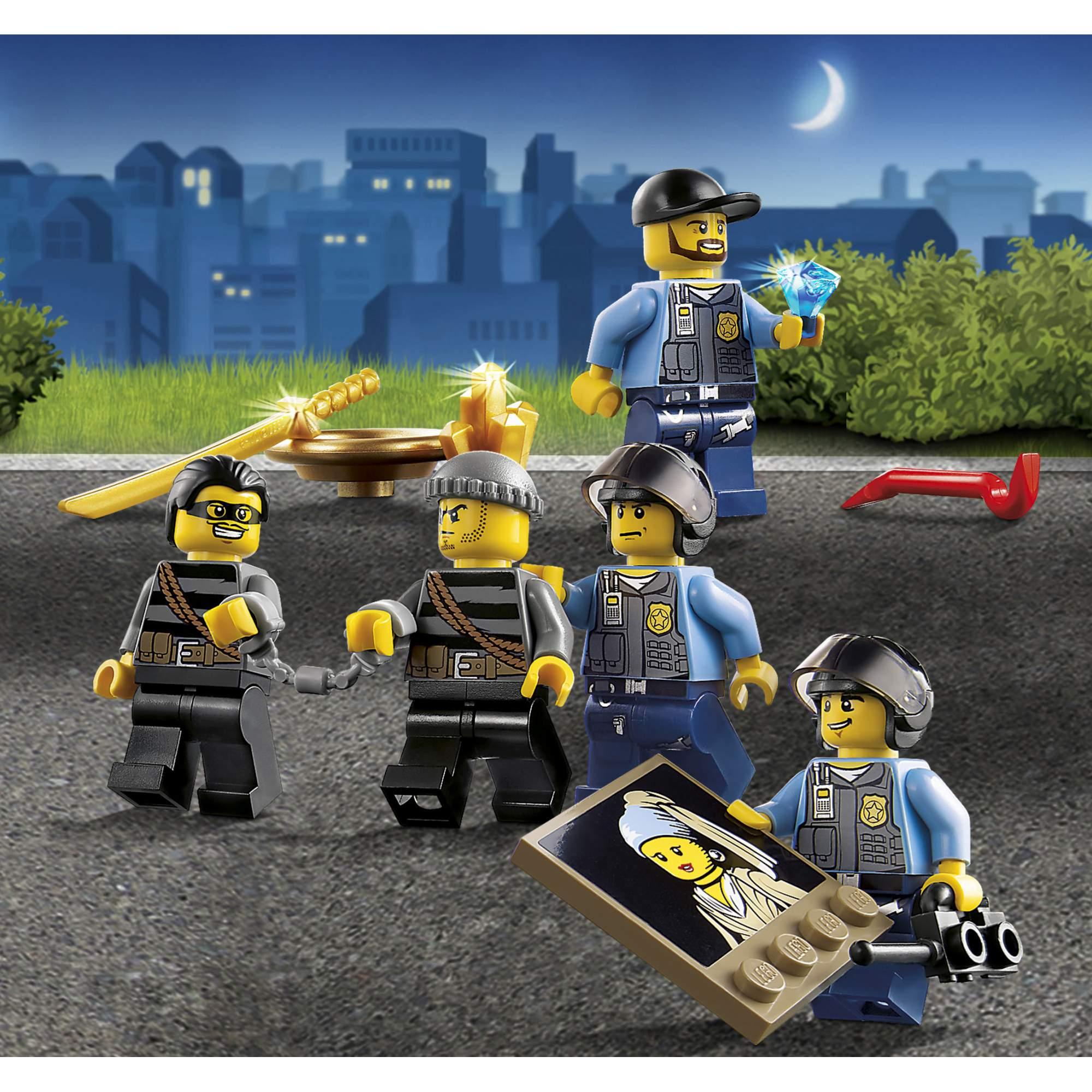 Картинки что есть в лего сити ночная полиция