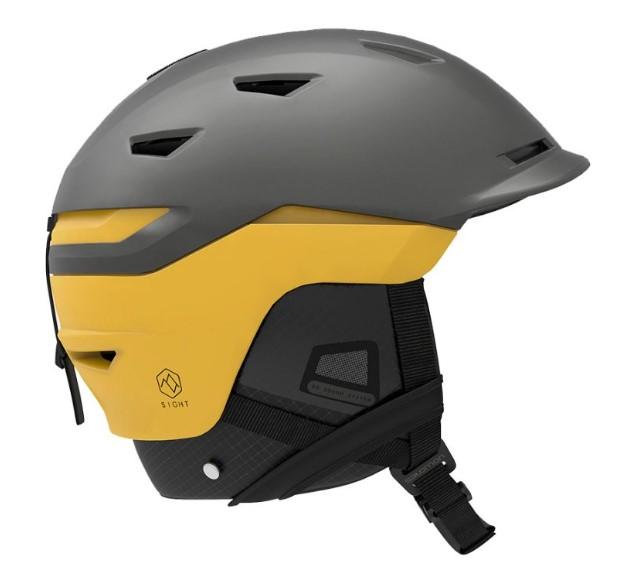 Горнолыжный шлем Salomon Sight 2019, темно-серый, M