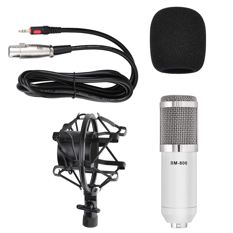 Микрофон Fzone Bm-800 White