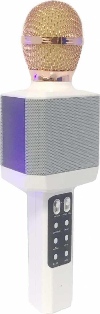 Беспроводной караоке-микрофон WS-1828 White