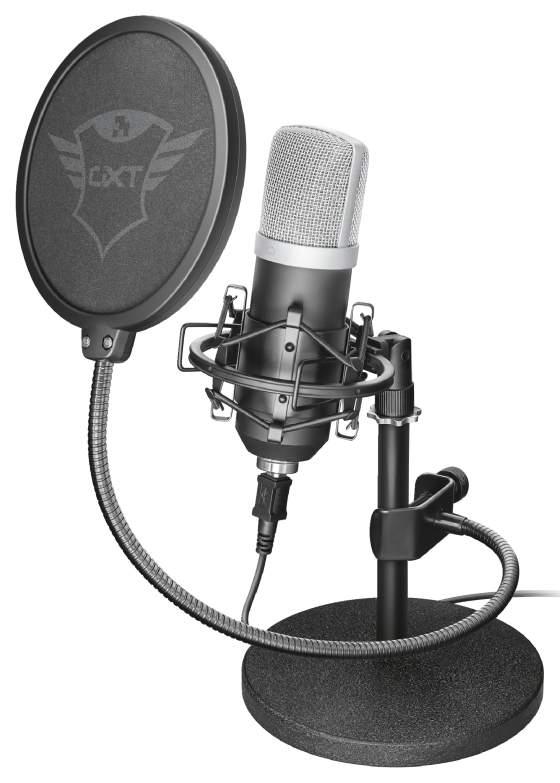 Микрофон Trust Emita