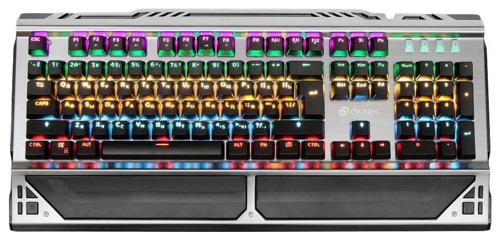 Игровая клавиатура OKLICK 980G Black