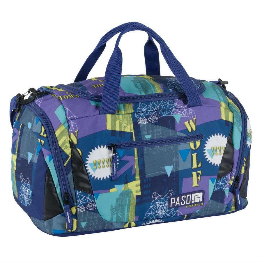 Дорожная сумка Paso Wolf Town 44 x 23,5 x 23