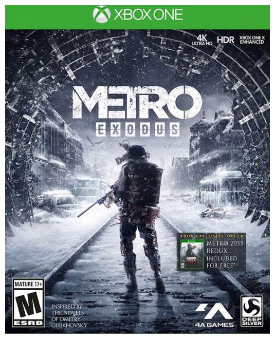 Игровая приставка Microsoft Xbox One S 1Tb White + Игра Metro Exodus