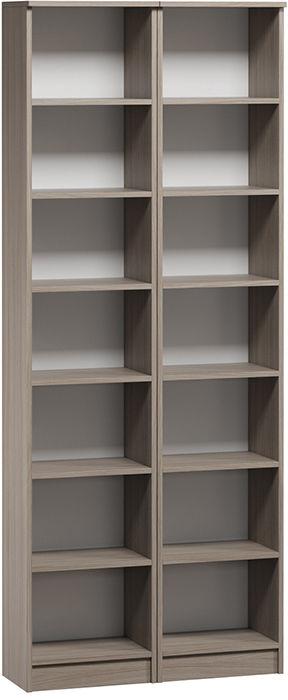 Шкаф книжный Divan.ru Цезарь-1 40х80х200, ясень шимо
