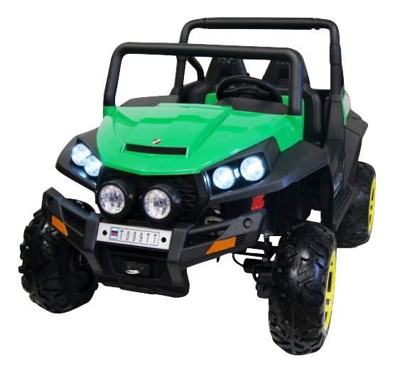 Электромобиль Buggy зеленый RIVERTOYS