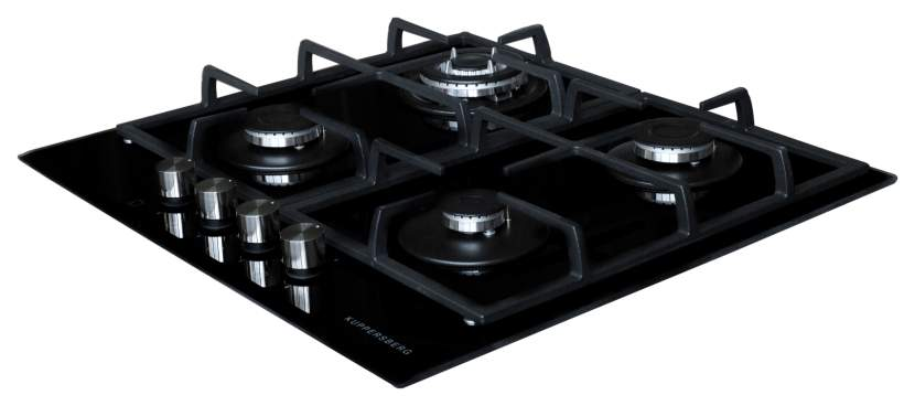 Встраиваемая варочная панель газовая KUPPERSBERG FQ65 B Black