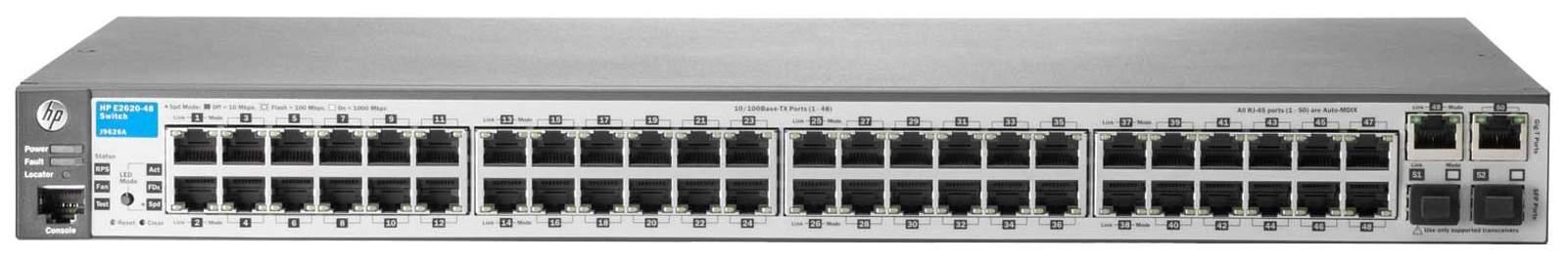 Коммутатор HP 2620-48 J9626A Серый