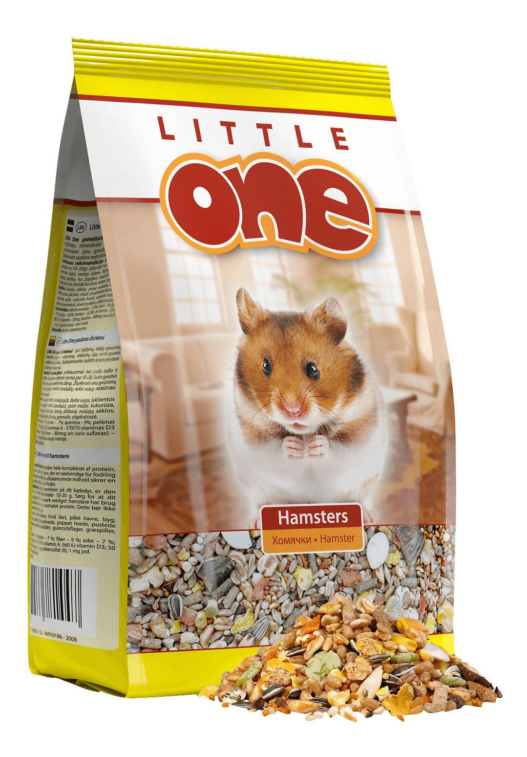 Корм для хомяков Little One Hamsters 0.9 кг 1 шт