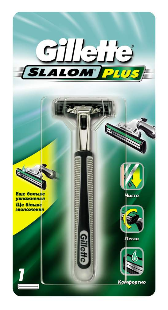 Мужская бритва Gillette Slalom с 1 сменной кассетой