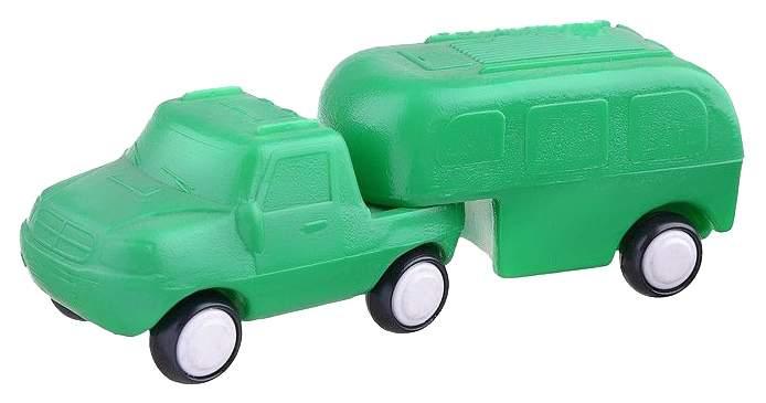 Машинка пластиковая ПК Форма Трейлер Детский сад C-111-Ф-no