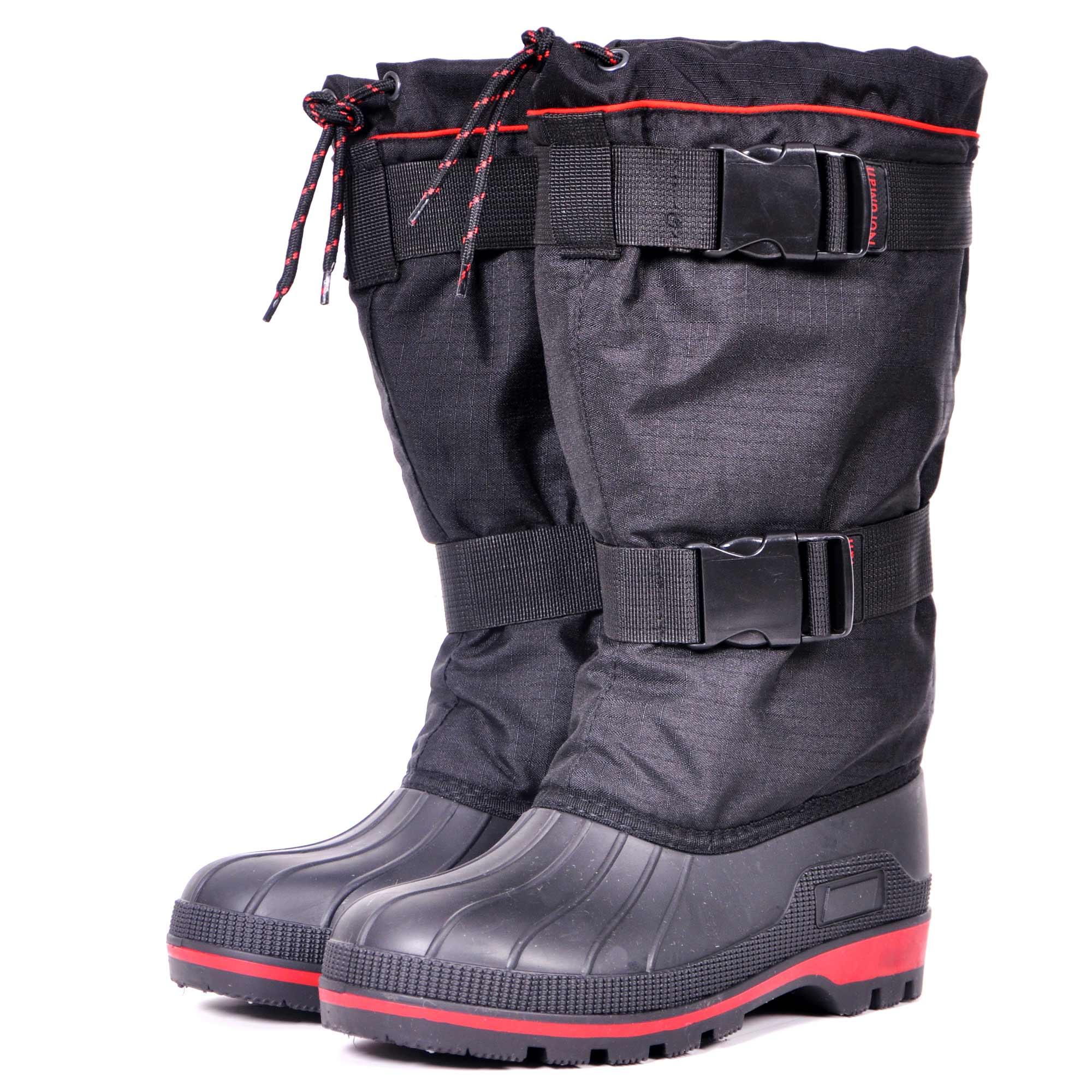 Бахилы для охоты Nordman New Red, на карабинах, черные, 44 RU