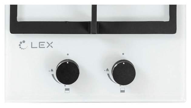 Встраиваемая варочная панель газовая LEX GVG 321 WH White