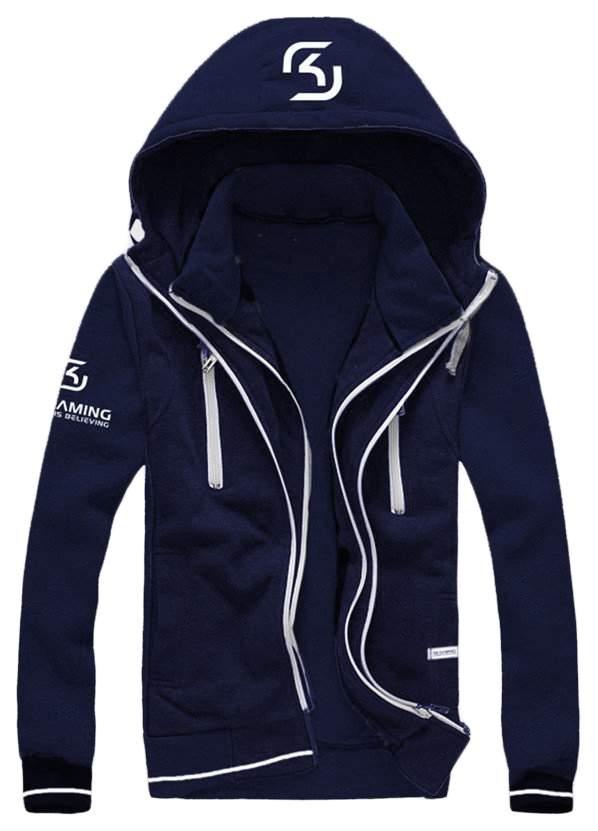 Худи SK GAMING Premium Zip Hoodie FSKPRHOOD17BL000M (M)