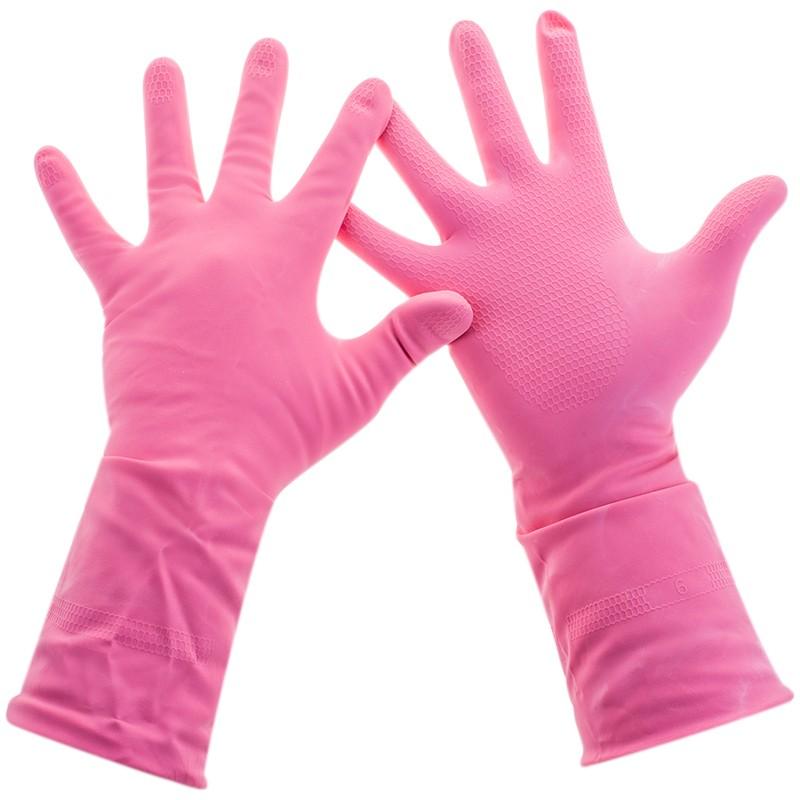 Перчатки резиновые Practi сomfort 1 пара