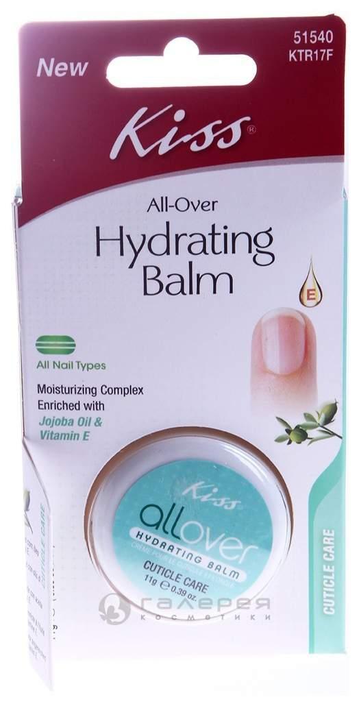 Средство для ухода за ногтями Kiss All-Over Hydrating Balm 11 г