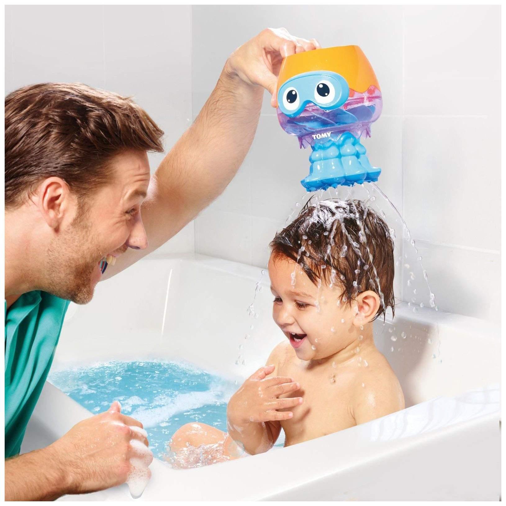 Игрушка для купания Tomy Веселая Медуза E72548