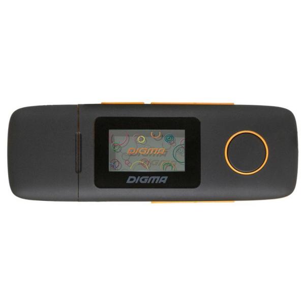Портативный медиаплеер Digma U3 4Gb Orange