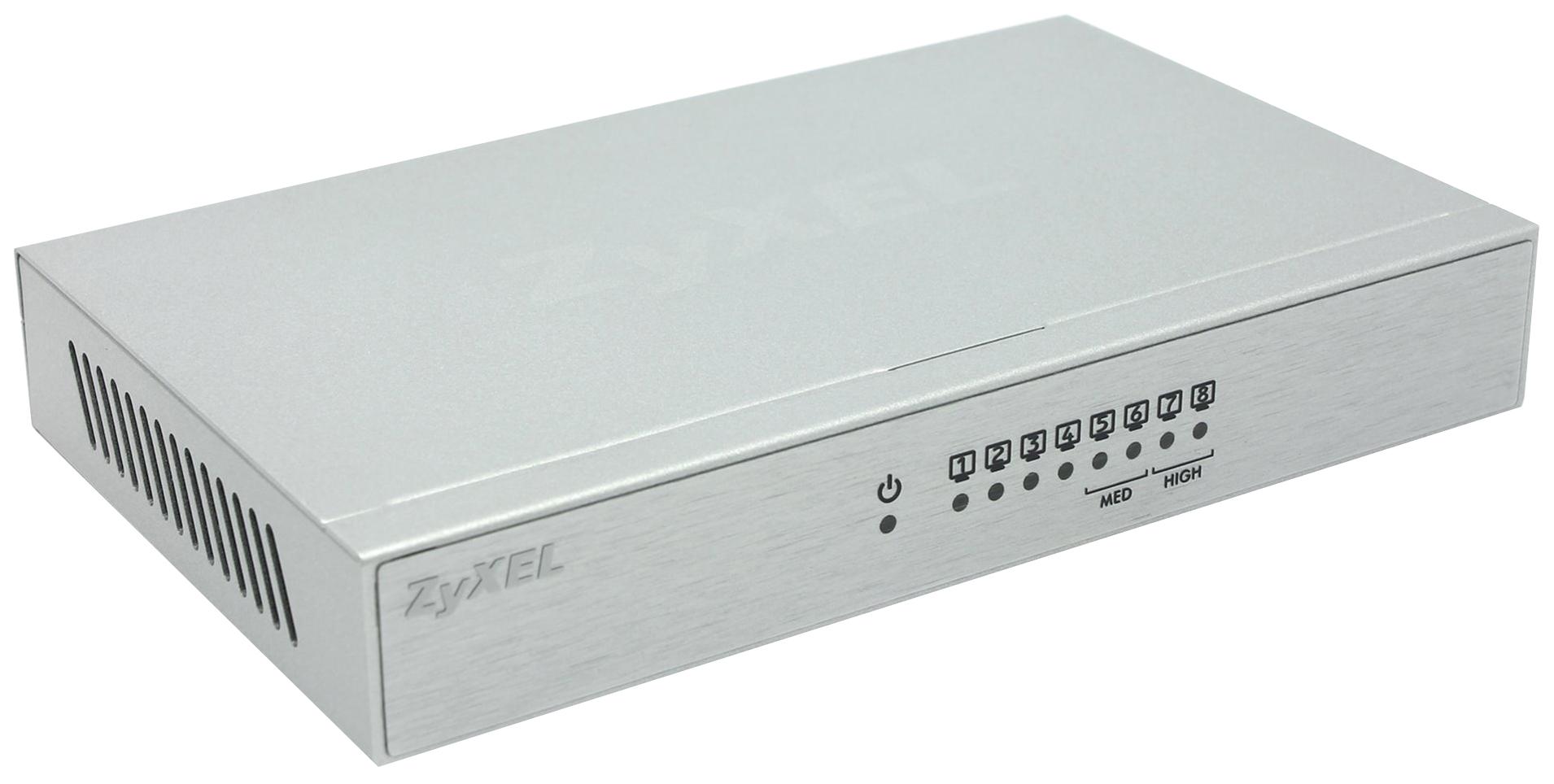 Коммутатор ZyXEL GS-108B Серый
