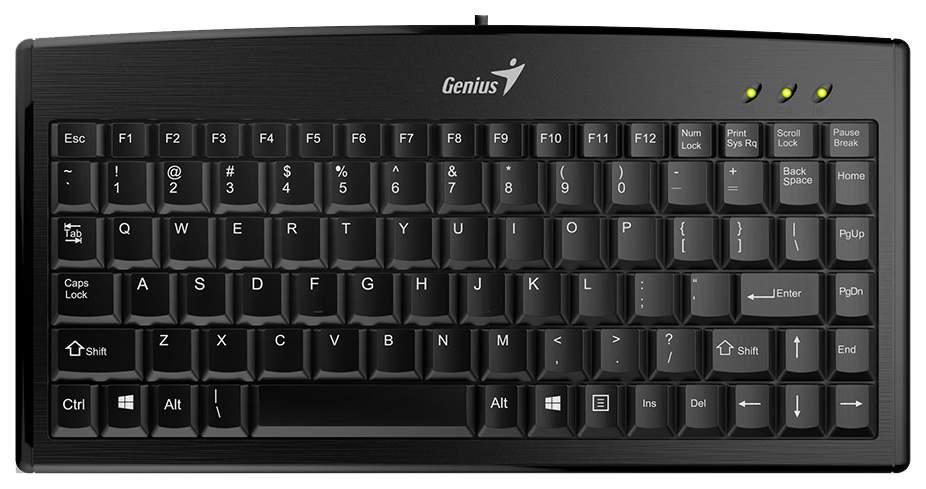 Клавиатура Genius LM-100 Black (31300725102)