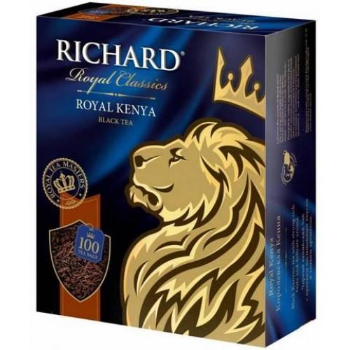 Чай черный в пакетиках для чашки Richard Royal Kenya 100*2 г